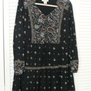 Boho Chic Style & Co. Paisley Dress